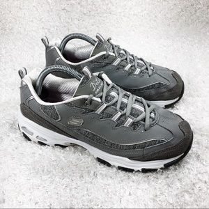 Skechers Gray D'Lites Sneakers
